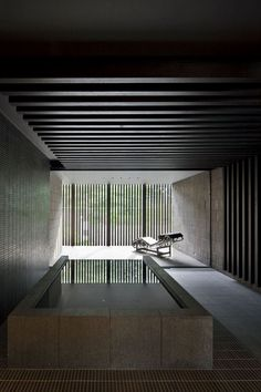 The Art of the Japanese Bath. Dual House by Kohmura Kenichi / Ken-Architects Japanese Bath, Japanese House, Bathroom Inspiration, Interior Inspiration, Suites, Interior Exterior, Interiores Design, Interior Architecture, Japan Architecture