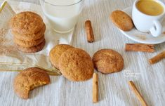 Μπισκότα κανέλας με βούτυρο - cretangastronomy.gr Bread, Cookies, Food, Crack Crackers, Brot, Biscuits, Essen, Baking, Meals