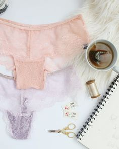 Sew your own lacy panties