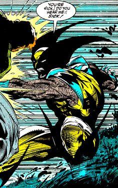 "You're Sick! (Spider-Man #12, July 1991) ""Perceptions, Part V"" - Todd McFarlane"