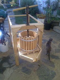 Apple Cider Press with Grinder
