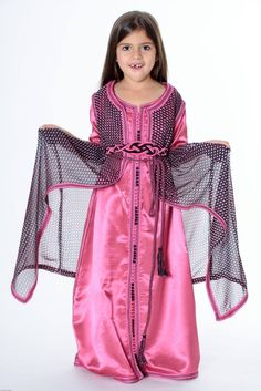 Little princess in pink dotted INESINO