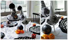 For the Halloween party:  Good witch tea party and free printables because it takes every kind of witch to make the Halloween world go round. ;)