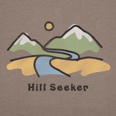 Women's Hill Seeker Short Sleeve Crusher Tee | Outdoor Tee Shirts | Life is good