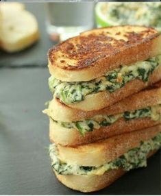 Spinach and Artichoke Melts - BigOven
