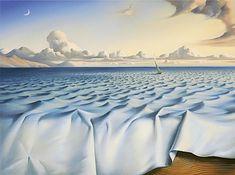 Ondas en el océano - Vladimir Kush