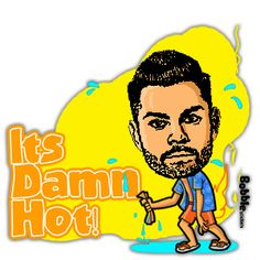 hahahaha.....hot no? try it ...create ur own faces and dialogues.... by http://bobble.in/kratika