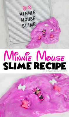 Minnie Mouse Slime R