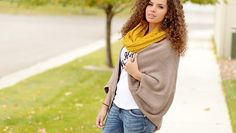 One Size Knit Cocoon Cardigans in 10 Colors! Slouchy Cardigan, Cocoon Cardigan, Cents Of Style, Stay Warm, What I Wore, Curly Hair Styles, Style Inspiration, Clothes For Women, Knitting