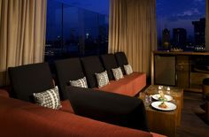 Above Beverly Hills cabana. SIXTY Beverly Hills. California cool meets manicured elegance. By Hotelied.