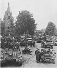 18september Guard tanks. Valkenswaard