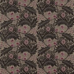The Original Morris & Co - Arts and crafts, fabrics and wallpaper designs by William Morris & Company | Products | British/UK Fabrics and Wallpapers | Larkspur (DKELLA305) | Pimpernel Weaves