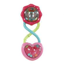 Bright Starts Rattle & Shake Barbell - Pink