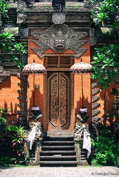 Inspiration: Where To Find It / Bali Architecture / Doors / Balinese Doors