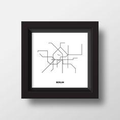 BERLIN metromap! TROME!