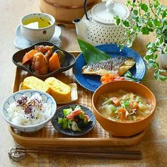 Japanese Dinner, Japanese Food, Clean Recipes, Healthy Recipes, Asian Cooking, Aesthetic Food, Food Menu, Food Dishes, Daily Meals