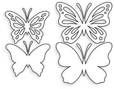 Papertrey Ink - Life is Beautiful Die Collection (set of Papertrey Ink Clear Stamps Dies Paper Ink Kits Ribbon Butterfly Stencil, Butterfly Template, Butterfly Crafts, Flower Template, Crown Template, Butterfly Mobile, Heart Template, Diy Paper, Paper Art