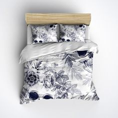 Hey, I found this really awesome Etsy listing at https://www.etsy.com/listing/239283701/skull-bedding-blue-print-with-large