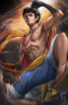 Luffy Fanart by christianamiel21 on DeviantArt