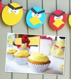Angry Birds Birthday Party   KandyOh.com