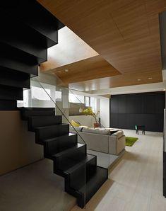 escaleras diseo interior