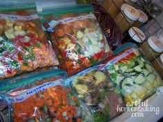 Almost every busy homemaker I know loves to save time in the kitchen. There are just so many more exciting and needful things to be doing! Last summer (about 6 months ago) I decided to spend a few days in the kitchen making freezer meals to save some time when school started. I found this list of Trim Healthy Mama freezer-to-crock pot recipesafter seeing someone