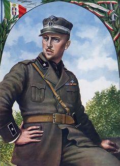 """Gabriele d'Annunzio, the Soldier Poet"", Tancredi Scarpelli"