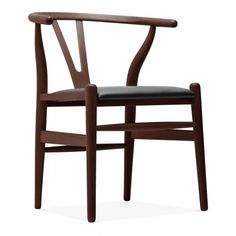 Our Wishbone style chair is a high piece and remains true to the original design. Available in three wood finish. Hans Wegner, Contemporary Chairs, Modern Chairs, Modern Contemporary, Wooden Dining Chairs, Dining Room, Kitchen Dining, Kitchen Chairs, Dining Area
