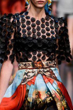 Dolce & Gabbana, Spring 2013 - love the skirt
