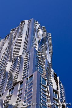 Frank Gehry Building New York City #architecture #Frank #Gehry Pinned by www.modlar.com
