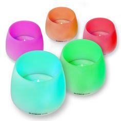 Pack de 3 Velas Bluetooth MiPow Playbulb Candle con luz LED Multicolor