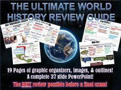 The Ultimate World History II Review Packet Bundle! Get your students ready to ace state testing & their finals!