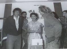 principessa margaret fuori dal set con starsky e hutch 1979