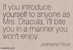 Image result for Jeaniene Frost book quotes