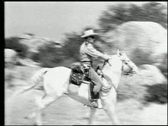 The Lone Ranger TV show.  Never missed it!