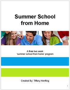 Wife.Mother.Teacher: Summer School From Home