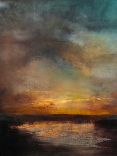 sunset reflected by maurice sapiro. | art i heart.