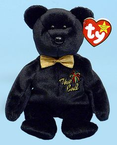 The End - bear - Ty Beanie Babies