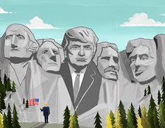 """Check out new work on my @Behance portfolio: """"Trump President"""" http://be.net/gallery/45067471/Trump-President"""