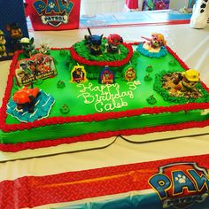 Maybe A Paw Patrol Party In The Future Mommy Pinterest Paw - Paw patrol birthday cake