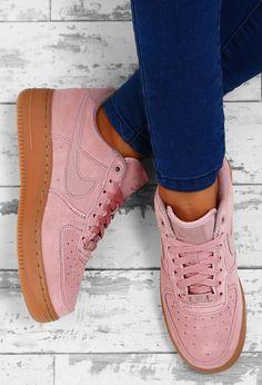 brand new 1efec 7a74b Nike Air Force 1 07 SE Pink Trainers - UK 3