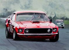 Allan Moffatt's Mighty Trans Am BOSS 302 Mustang