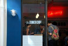 The Sunken Chip, fish and chips restaurant, 39 rue des Vinaigriers 75010 Paris