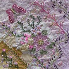 Crazy Quilt Created by Barbara Nicki Lee Seavey - Raviolee Dreams - CQJP 2015