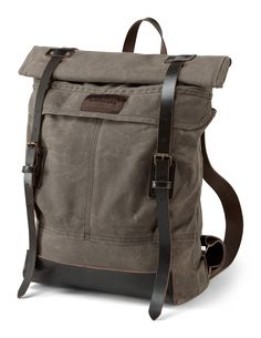 Northcore #handmade waxed cotton canvas #retro inspired #backpack...made to last a lifetime