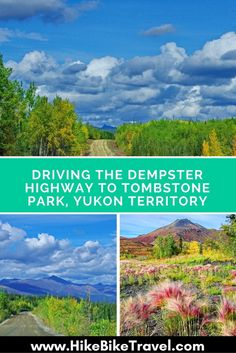 Driving the Dempster Highway to Tombstone Territorial Park in the Yukon