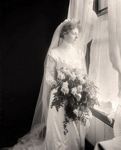 You are looking at a collectible photograph of Bride. It was made between 1905 and 1945 by Harris & Ewing.