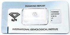Foto 1, Diamant, IGI, Brillant, 0.50ct, Lupenrein, River Juwel!, D5642