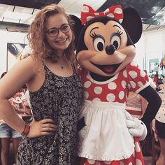 Me and Minnie go way back. Carrie Hope Fletcher, Role Models, Carry On, Actors & Actresses, Chf, Photo And Video, Celebrities, Mars, People