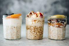 Mutatunk 3 megoldást, ha unod a zabkását! Chia Puding, Diet Recipes, Healthy Recipes, Atkins Diet, Overnight Oats, Vegan Breakfast, Granola, Bacon, Oatmeal